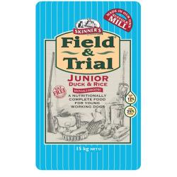 Skinners Field & Trial Hypoallergenic Dog Food - Junior - Duck & Rice 15kg